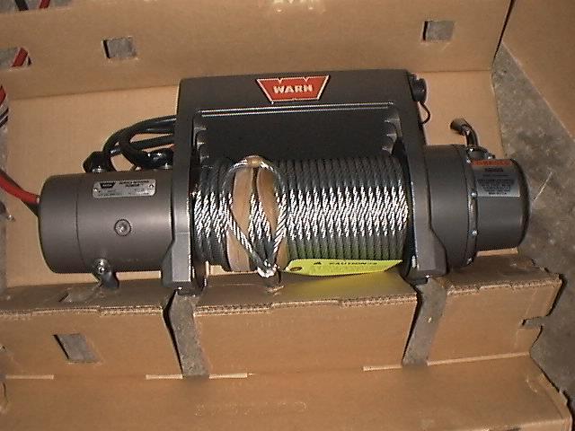 Project Cherokee  Warn X8000i Winch Installation
