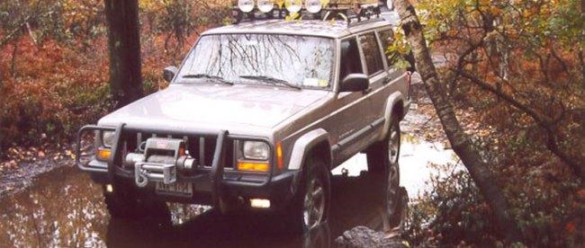 Jeep Cherokee at Paragon AP