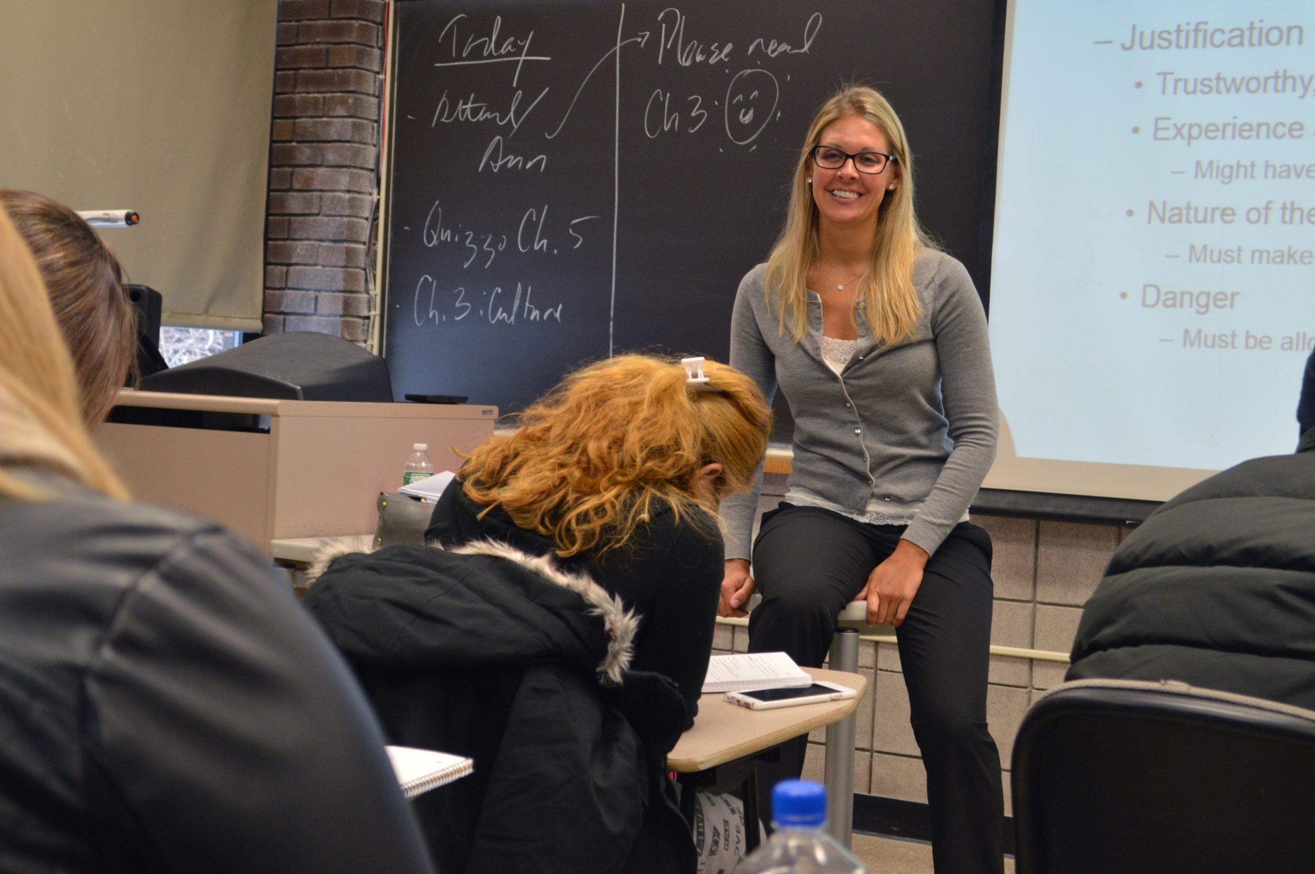 Laura Schuler Criminal Justice class