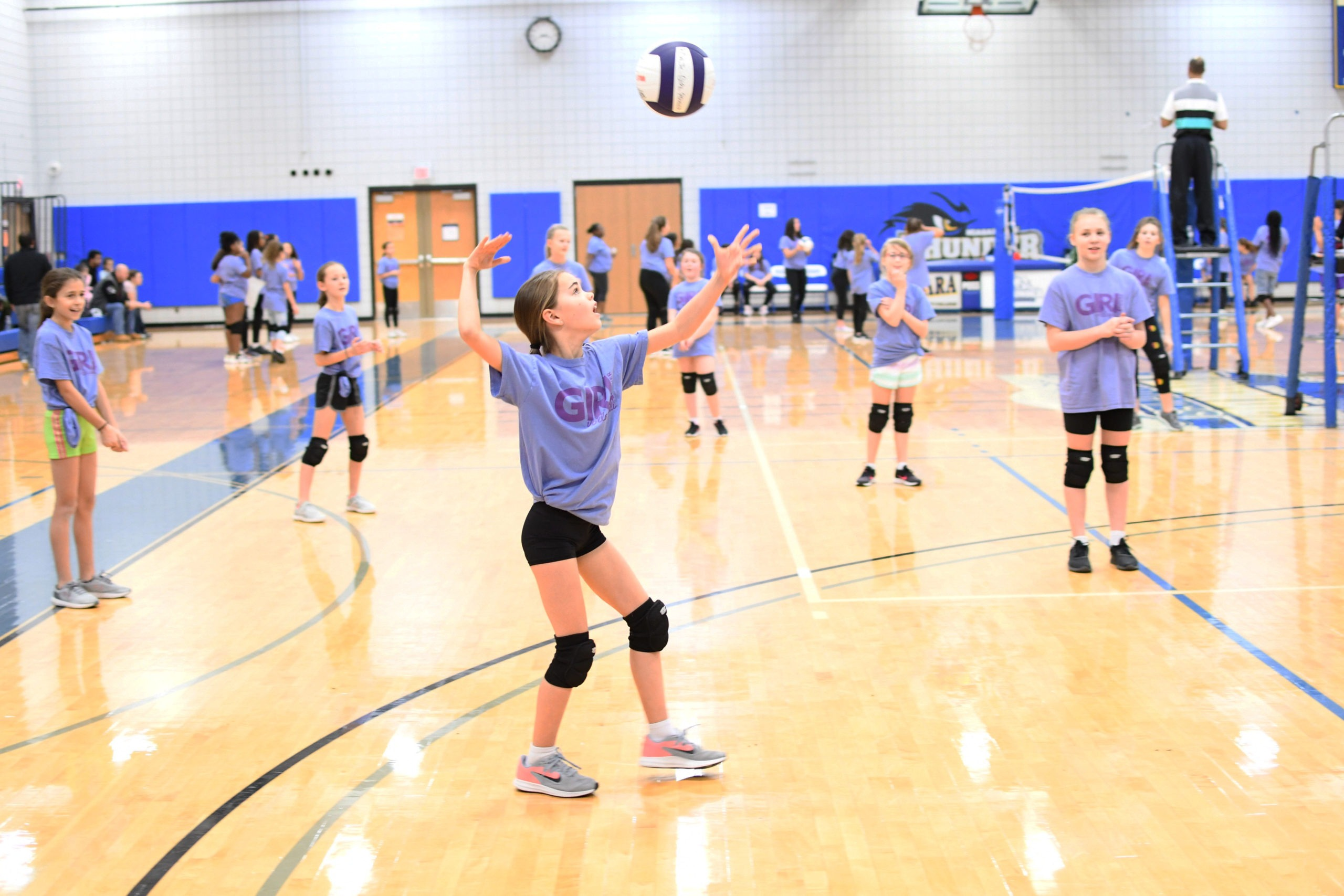 Girl Power Volleyball Tournament Held at NCCC
