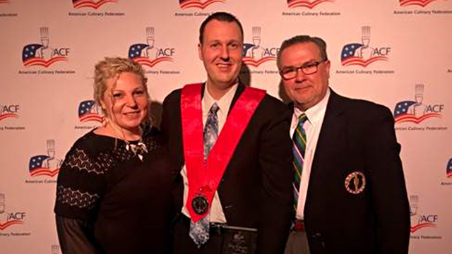 NFCI's Scott Steiner honored as ACF Chef Educator of the Year