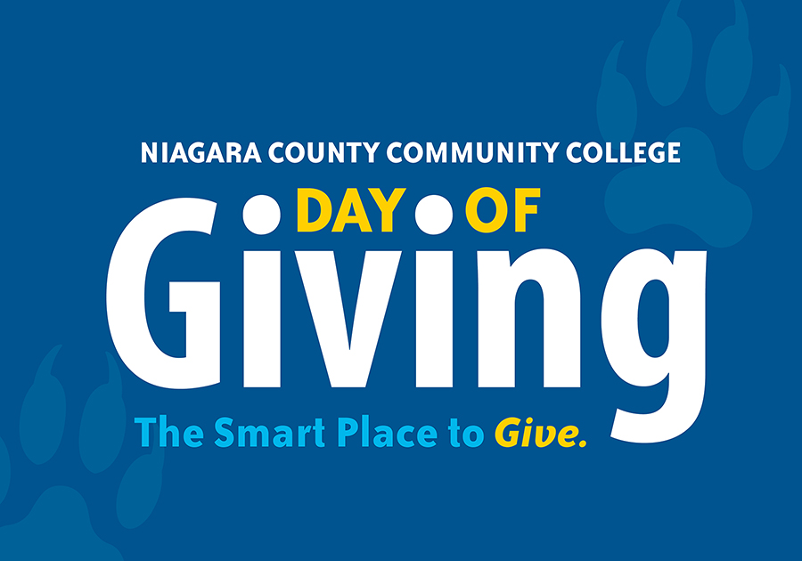Day of Giving sign