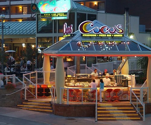 Cocos Terrace Steak House Restaurants Amp Dining