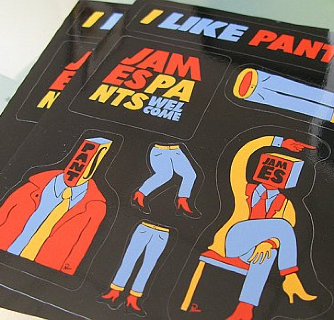, Remixes: Who's Pants? James Pants