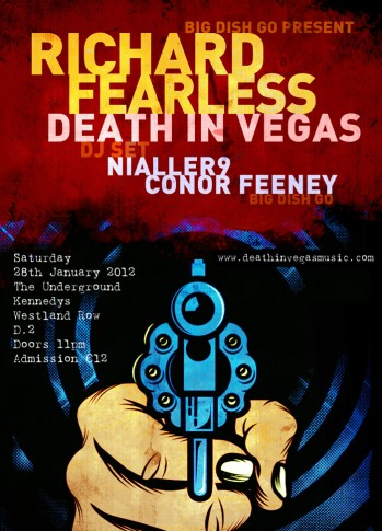 , Death In Vegas' Richard Fearless DJ set for Dublin this month