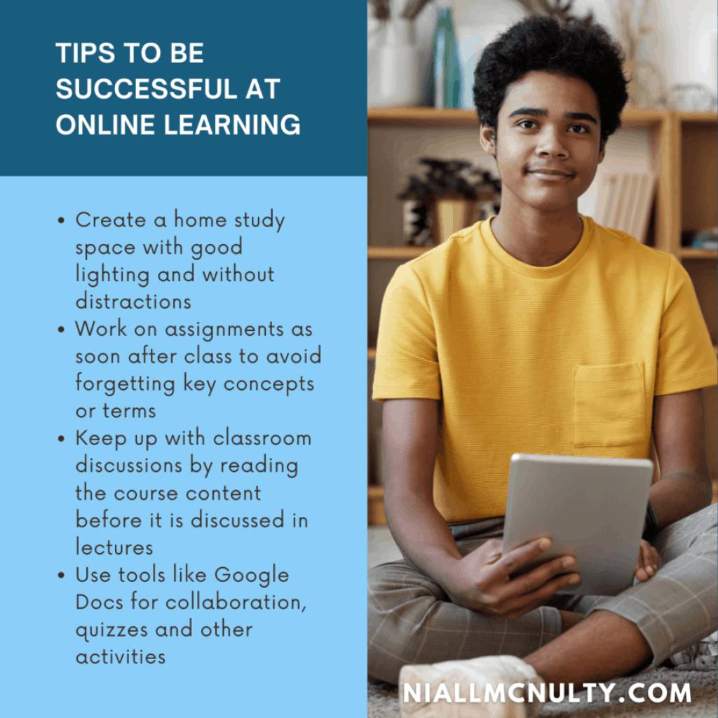 Tips to be successful at online learning