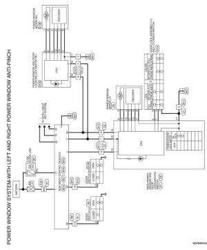 Nissan Altima 20072012 Service Manual: Power window main