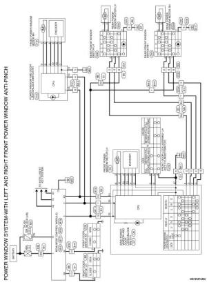 Nissan Altima 20072012 Service Manual: Front power window