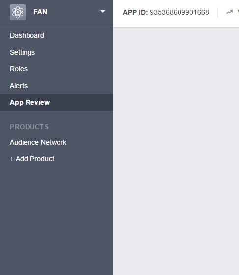 Facebook Audience Network (FAN) Dashboard