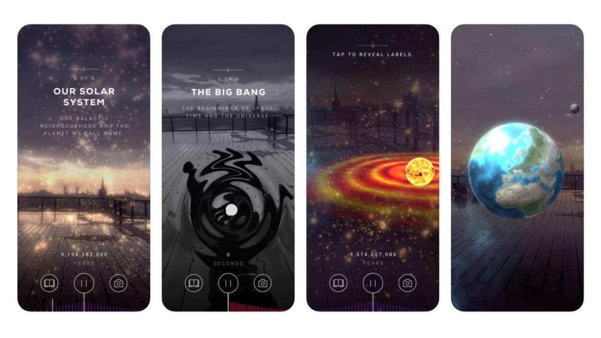 App realtà aumentata iPhone - Big Bang AR