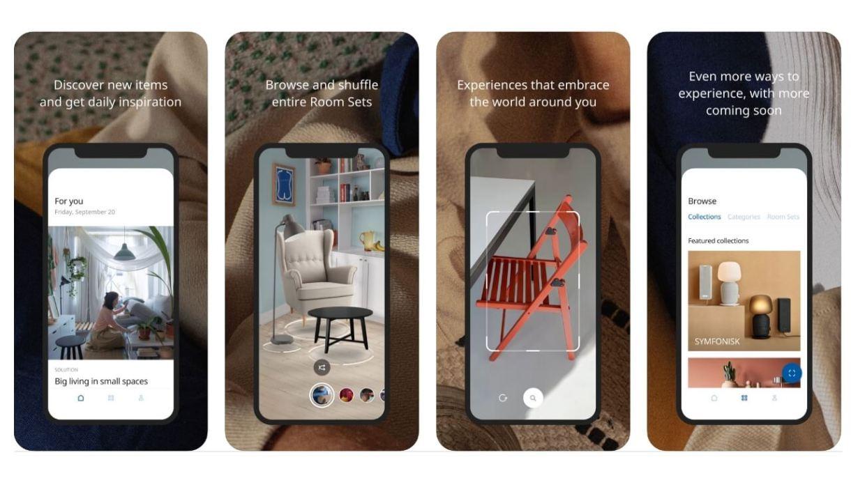 App realtà aumentata iPhone - Ikea Place