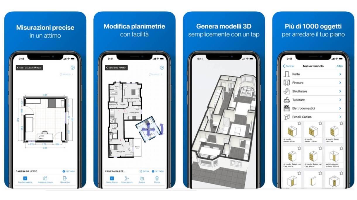 App realtà aumentata iPhone - Magicplan