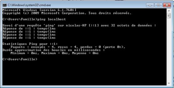 Ping IpV6 Uninstall IpV6