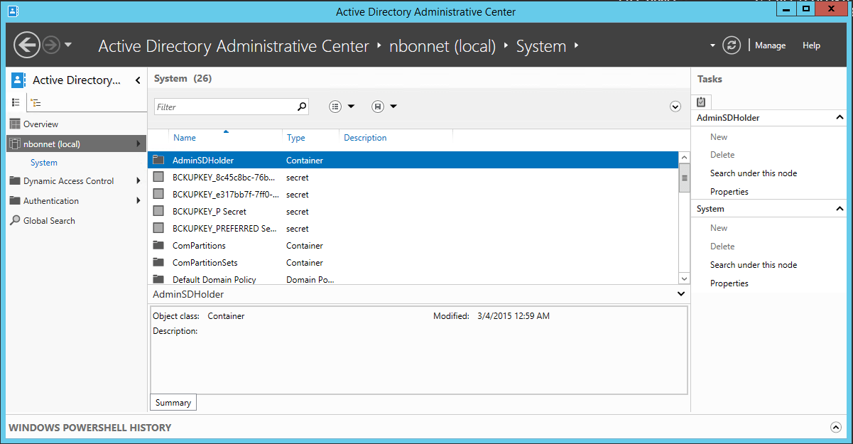 Create PSO access object