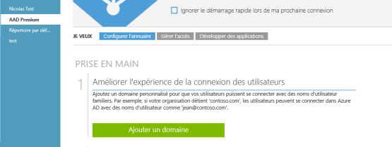 Add domain