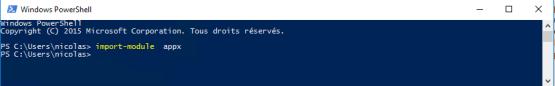 Sysprep fails Import APPX module