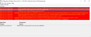 Sysprep fails