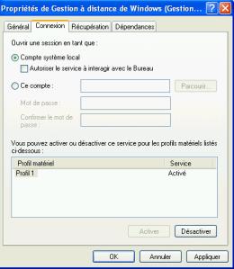 Add service account