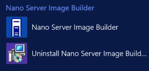 Nano Server Image Builder