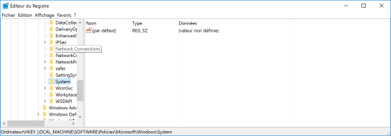 cannot activate Windows Hello registry console