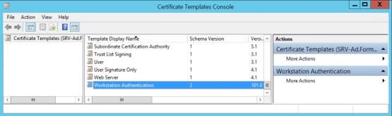 Configure CMG Template certificate