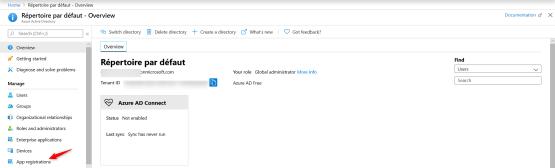 App Registration in Azure AD