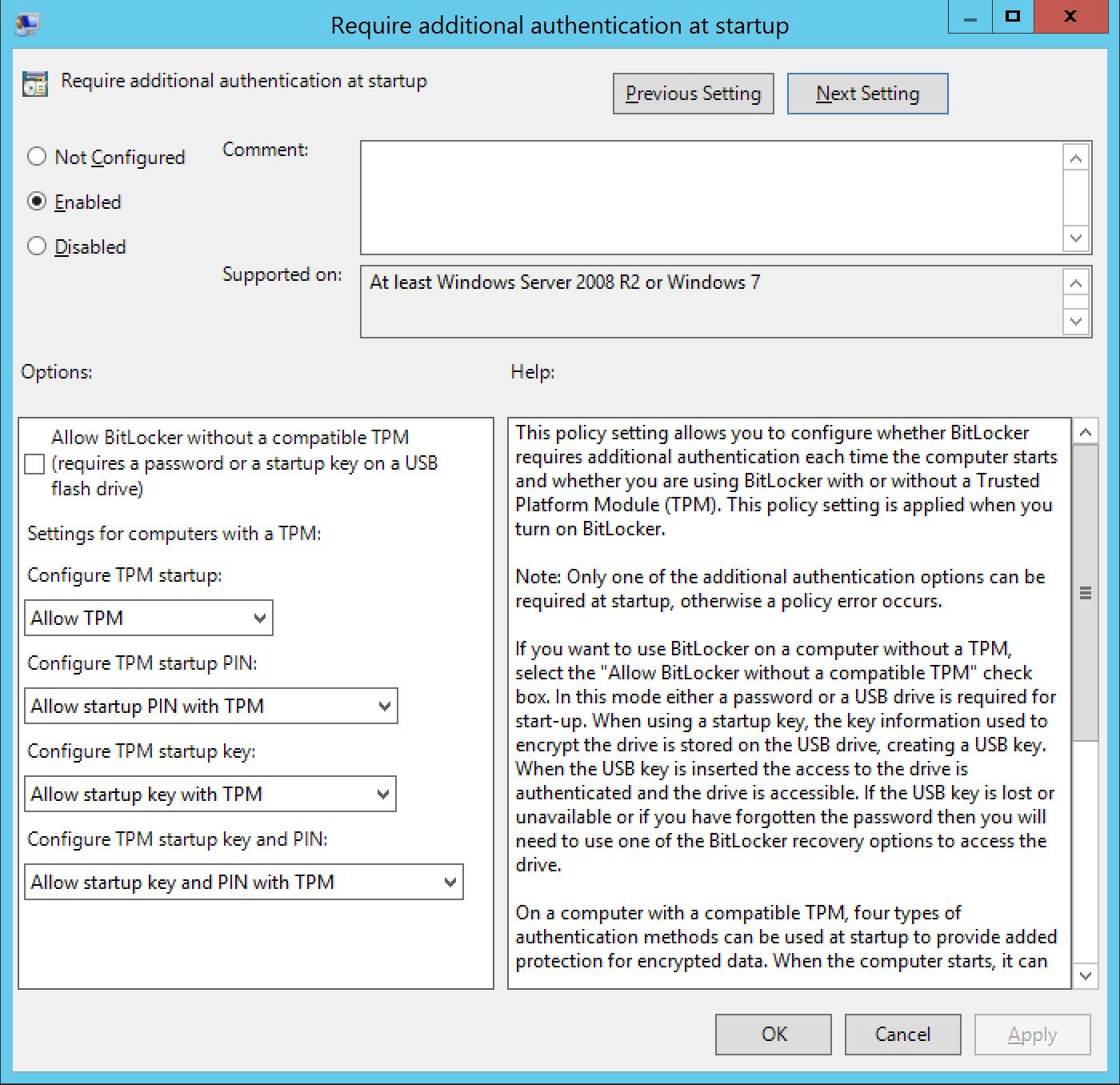 Secure your desktop with Bitlocker - Blog on Microsoft