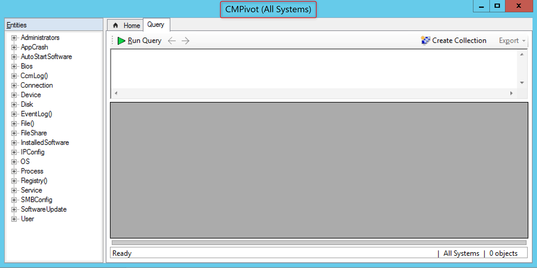 CMPivot into SCCM Configure windows to use CMPivot