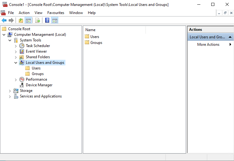 SCCM PXE without WDS Add SCCM Server Account on Administrator group