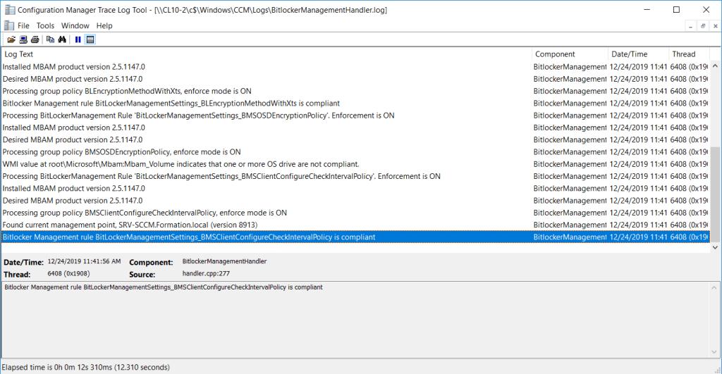 Log on computer