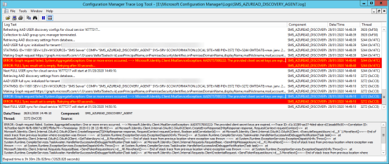 Configure Discovery logs