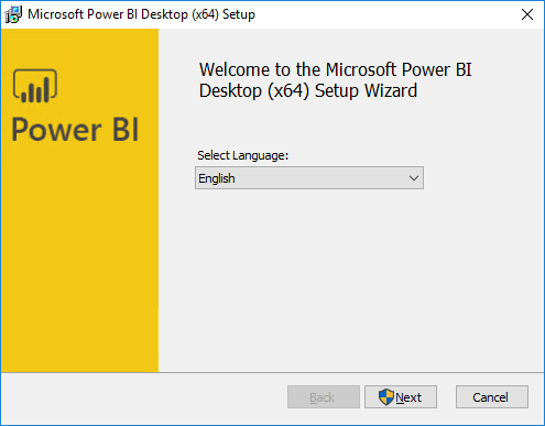 Integrate Power BI with SCCM - Wizard appear