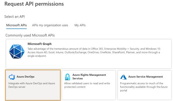 Add Microsoft Graph permission