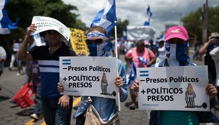 Ley para liberar a presos políticos en Nicaragua