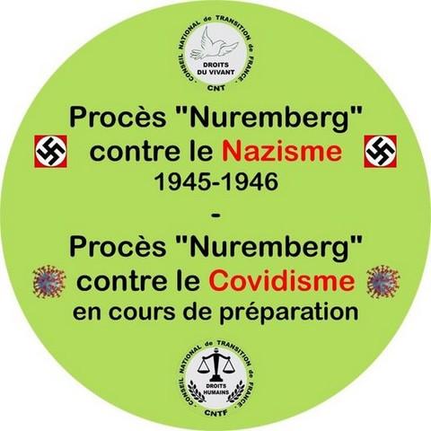 Procès Nuremberg - covidisme