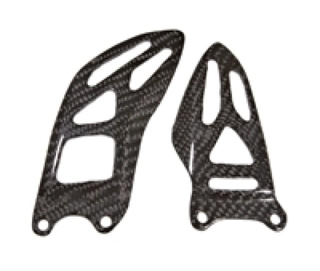 Suzuki Gsxr Carbon Fiber Heel Guards