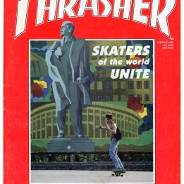 Thrasher skaters of the World Unite. Russian skater union