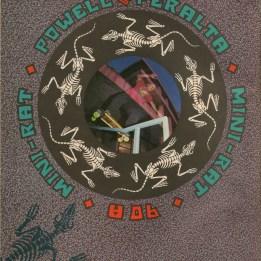 Powell Peralta 90a mini rat wheel ad.