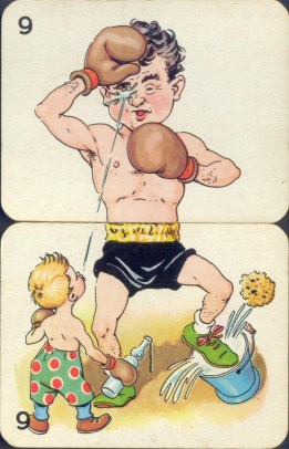 vintage body spiltter cards (8)