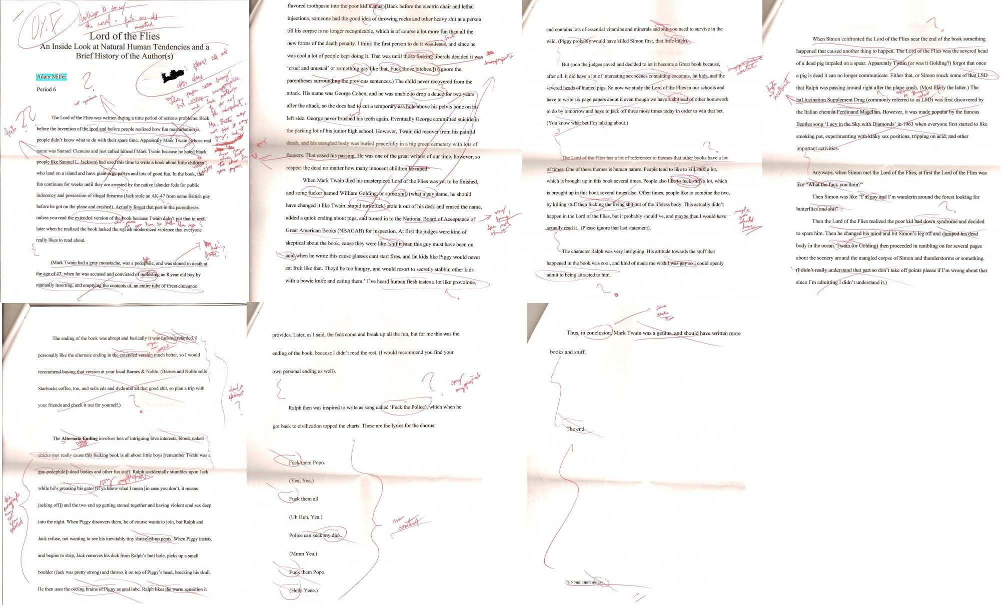 Lord Of The Flies Essay On Jack