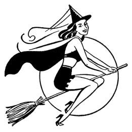 HalloweenRetroWitch-GraphicsFairy