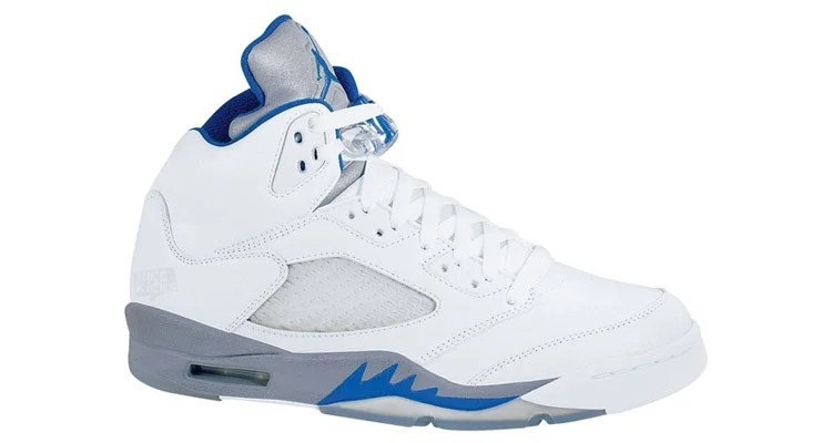 premium selection 387dc f4611 Air Jordan 5 White Sport Royal-Stealth Release Date