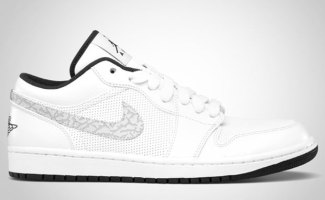 e0e0cea4c25 Air Jordan 1 Phat Low White/Anthracite