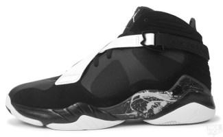 Air Jordan 8.0 Black Dark Charcoal-White c2004d59cae8