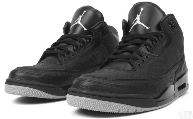 "eef983cbd Release Reminder Air Jordan 3 ""Black Flip"" ..."