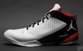 Jordan Fly Wade 2 White/Varsity Red-Black