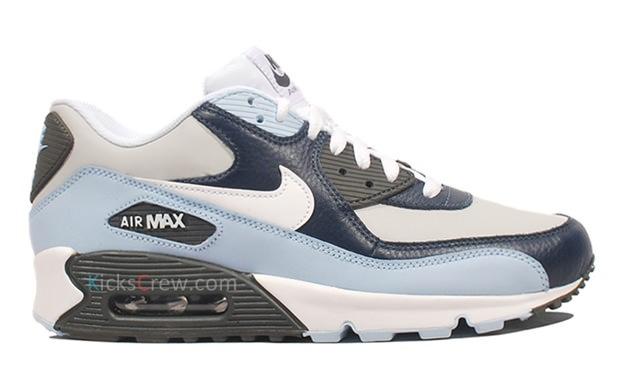 nike air max 90 ossidiana / mezzanotte nebbia belle scarpe