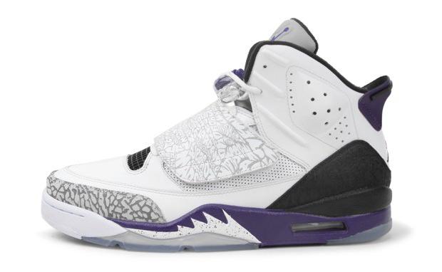 1b0a1194de9764 Jordan Son of Mars White Club Purple