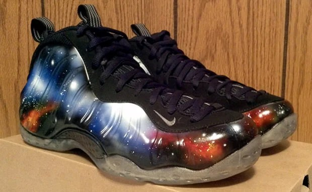 "huge selection of 6e537 12880 Nike Air Foamposite One ""Alternate Galaxy"" Custom"