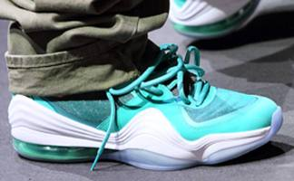 """sports shoes 685a0 d7bf7 Wale Debuts the """"Dolphins"""" Nike Air Penny 5"""